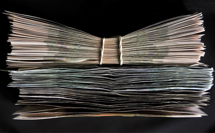 В 2017 году в России появятся купюры номиналом 200 и 2000 рублей