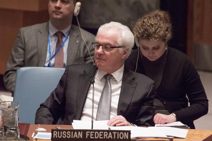 Чуркин призвал перекрыть турецко-сирийскую границу и ввести эмбарго против ИГ