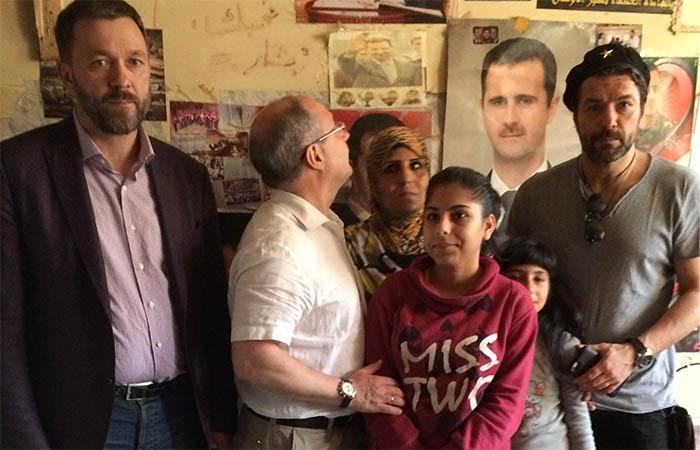 В центрах для беженцев в Сирии принимают даже родственников террористов