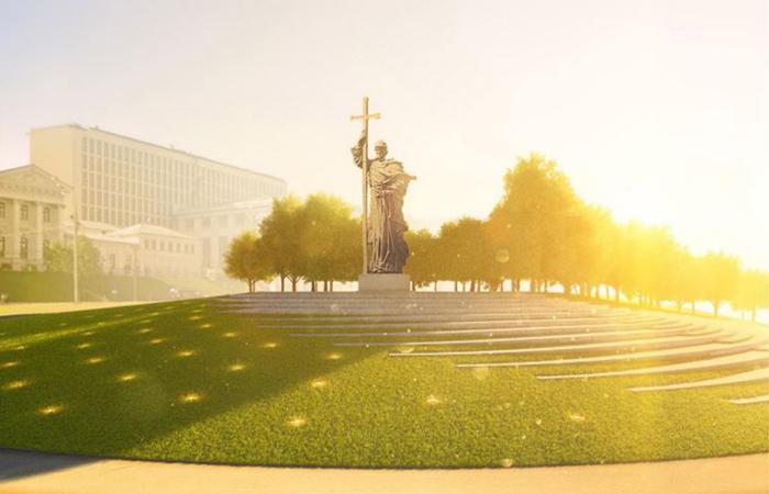 Памятник князю Владимиру установят на Боровицкой площади к ноябрю