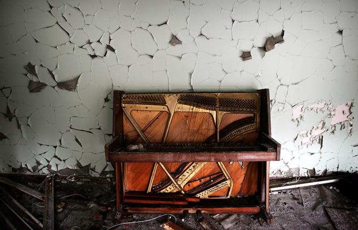 пианино в Припяти