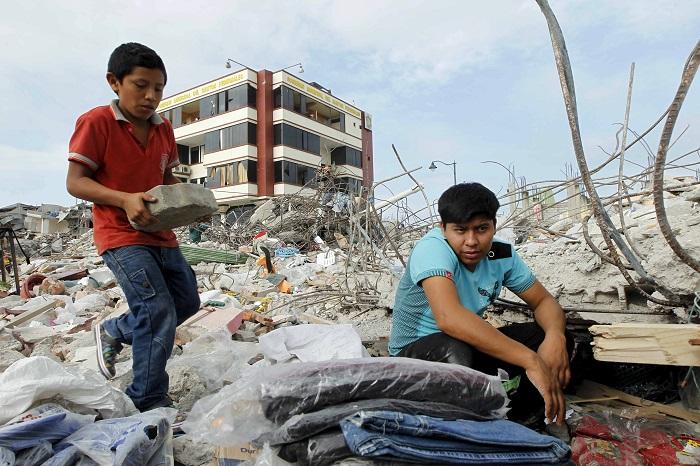 Новое сильное землетрясение зарегистрировано у побережья Эквадора