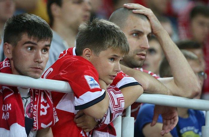 'Спартак дома сыграл вничью с'Мордовией в 25-м туре РФПЛ
