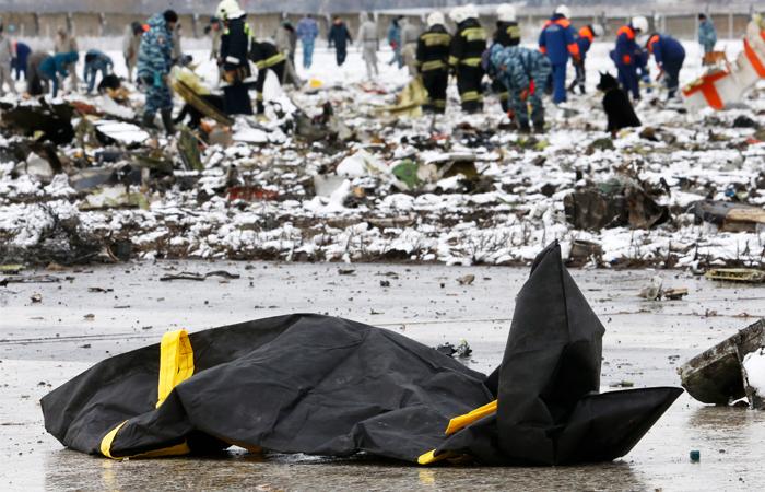 Все погибшие в авиакатастрофе в Ростове-на-Дону идентифицированы