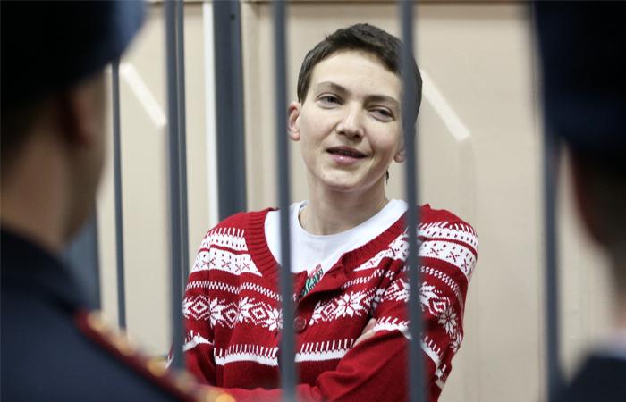 Савченко восстановилась после голодовки