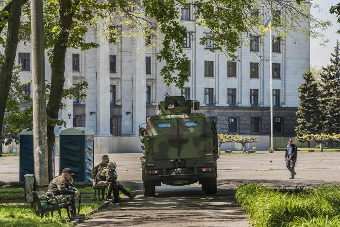 Милиция: Около Куликова поля вОдессе скончался человек