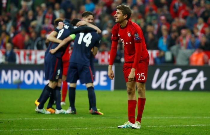 'Атлетико стал первым финалистом Лиги чемпионов УЕФА