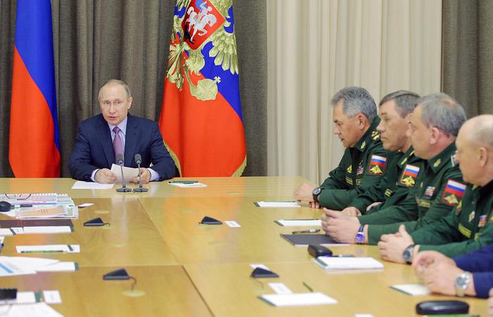 Путин заявил о срыве некоторых контрактов ГОЗ в 2015 году