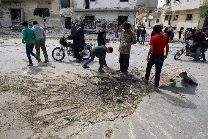 ИГ объявила чрезвычайное положение в Ракке