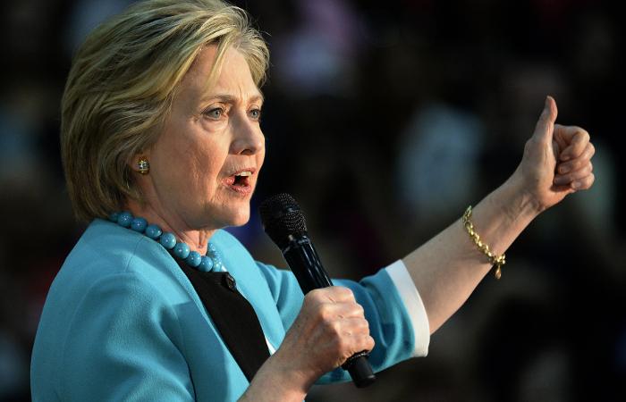 Хиллари Клинтон выразила уверенность в своей победе по итогам праймериз