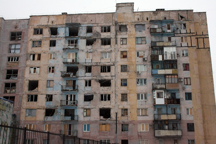 Украинские военные заявили об обстреле их позиций под Авдеевкой