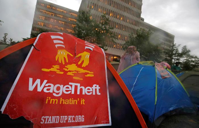 McDonald's приостановила работу штаб-квартиры в Чикаго из-за протестов