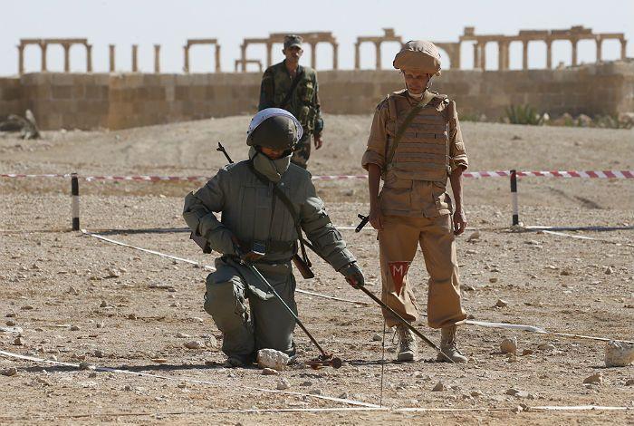 В Сирии осталась часть российских инженерных войск