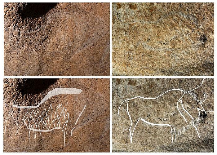 ВИспании найдены пещеры с иллюстрациями возрастом 14 тыс. лет