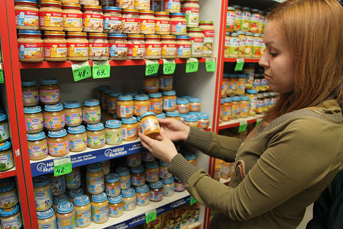 В Российской Федерации ослабили продуктовое эмбарго ради детского питания