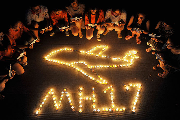 Семьи погибших наборту МН17 членов экипажа подали всуд наавиакомпанию