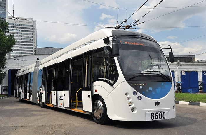 Испытания нового троллейбуса на автономной тяге начались в Москве