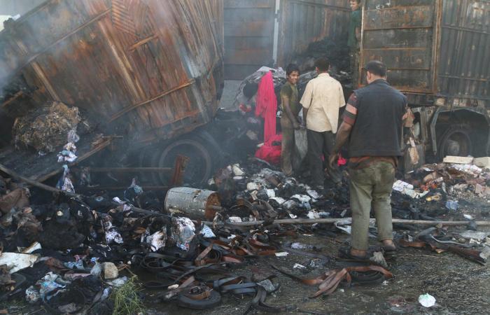 В боях за квартал Шейх-Максуд в Алеппо погибли 40 человек