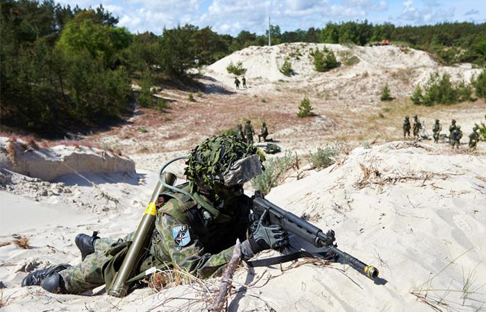 Войска НАТО впервые высадятся на берега Финляндии