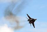 В Пушкинском районе Подмосковья разбился истребитель МиГ-29