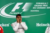 """Пилот команды Mercedes Хэмилтон одержал победу в канадской гонке """"Формулы-1"""""""