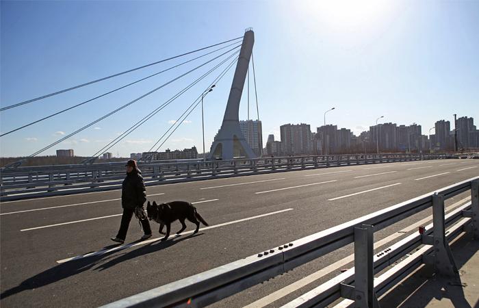 Губернатор Петербурга назвал мост именем Ахмата Кадырова