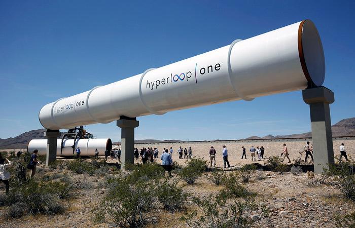 Проект вакуумного поезда Hyperloop собрались реализовать в Москве