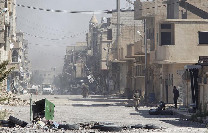 Российский военнослужащий стал жертвой террориста-смертника в Сирии