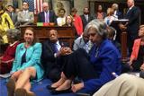 В работе Палаты представителей США объявлен перерыв из-за протеста демократов