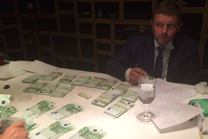 Никита Белых задержан за взятку в 400 тыс. евро