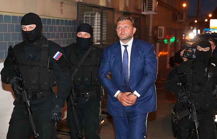 Задержание и арест Никиты Белых