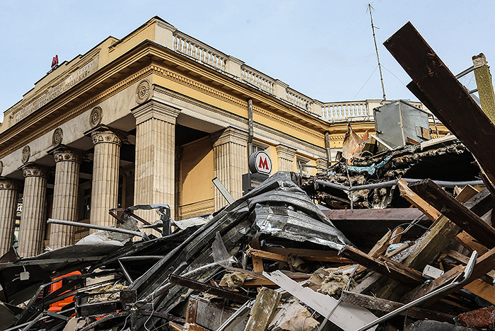 В Москве снесут еще 107 самовольных построек