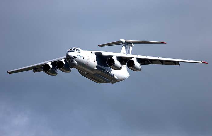 СКР назвал возможные причины падения Ил-76 в Иркутской области