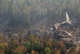 Обнаружены тела погибших и бортовой самописец на месте крушения Ил-76