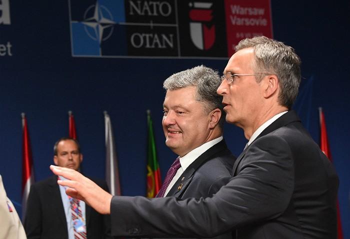 Столтенберг назвал неактуальным вопрос о членстве Украины в НАТО