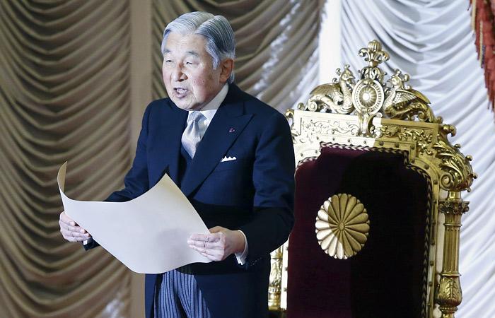 Император Японии решил отречься от престола