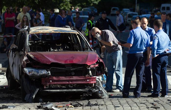 Украинская полиция назвала гибель Павла Шеремета умышленным убийством