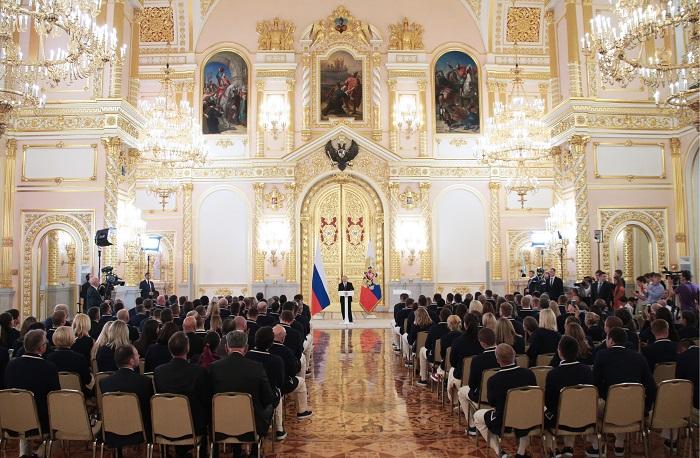 270 русских спортсменов получили согласие научастие вОлимпиаде