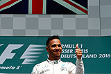 """Британец Хэмилтон выиграл Гран-при Германии """"Формулы-1"""""""