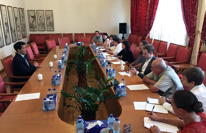 КНР будет вместе с РФ укреплять сотрудничество в борьбе с терроризмом