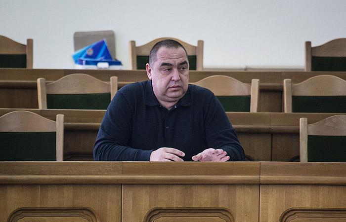 Глава ЛНР получил минно-осколочные ранения печени и селезенки