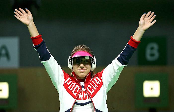 Россиянка Бацарашкина завоевала серебро Игр в стрельбе из пистолета