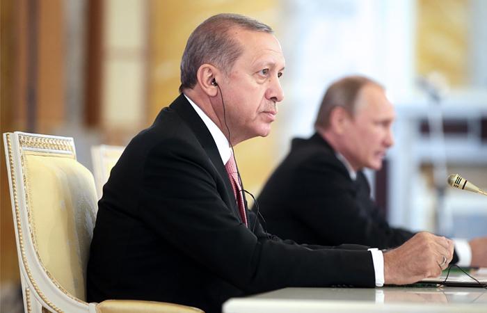 Эрдоган назвал Путина дорогим другом и увидел потенциал нормализации отношений