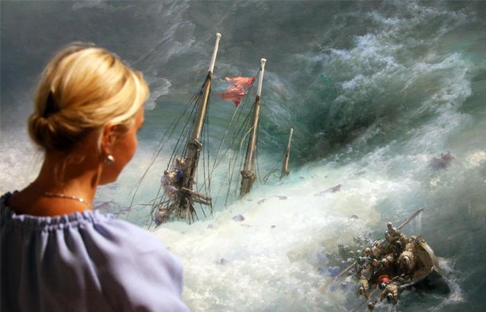 Выставка Айвазовского в Третьяковке обошла по популярности Серова