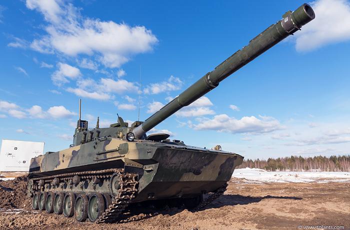 Испытания новейшего истребителя танков для ВДВ пройдут в этом году