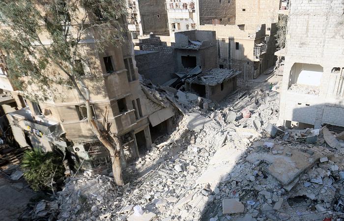 Минобороны РФ опровергло нанесение удара по жилому району в Алеппо