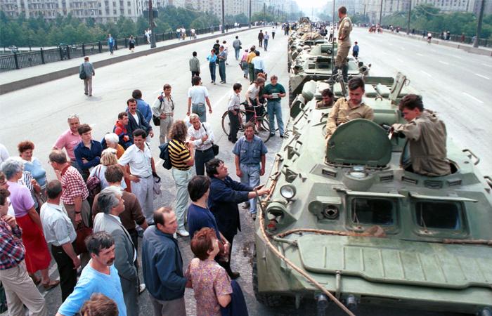 """""""Интерфакс"""" был для мира единственным источником информации в СССР о путче 1991 года"""
