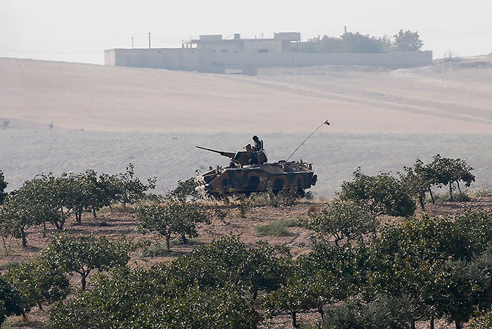СМИ сообщили о проникновении турецкого спецназа на территорию Сирии