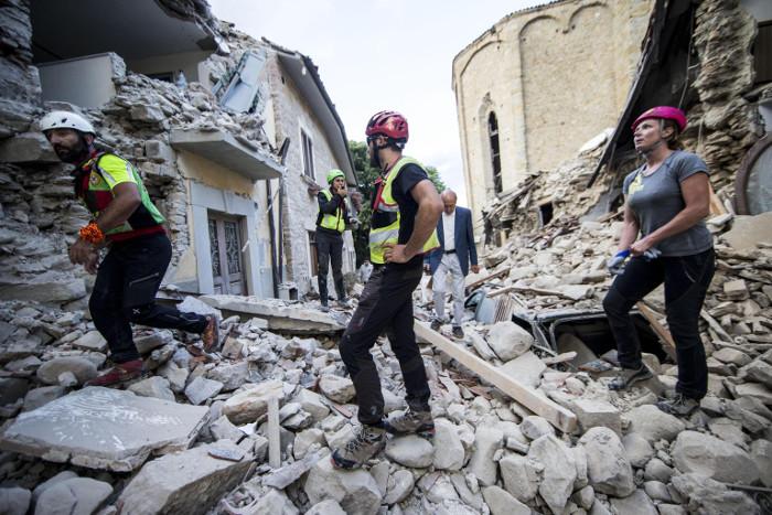 Растет число жертв в итоге землетрясения вИталии