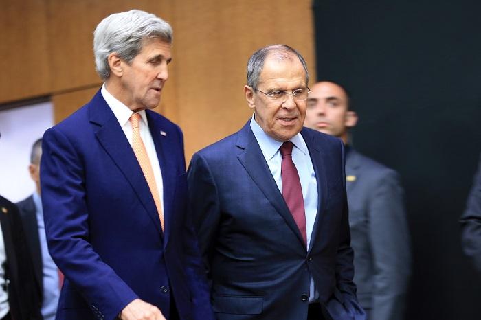 Лавров и Керри завершили переговоры в Женеве по сирийскому урегулированию